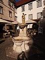 SLO — Ljubljana — Ribji trg (Brunnen mit Nixe) 2020.JPG
