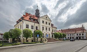 Rudna, Lower Silesian Voivodeship - Town hall