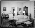 SOUTHEAST DRAWING ROOM, LOOKING WEST - Westover, State Route 633, Westover, Charles City, VA HABS VA,19-WEST,1-25.tif