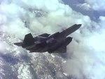 File:SR-71 LASRE in Flight over California's Mojave Desert.webm