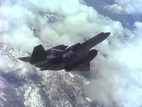 File:SR-71 LASRE in Flight over California's Mojave Desert.webm