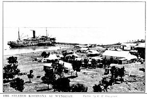 Cambridge Gulf - SS Koombana, Wyndham, ca. 1911