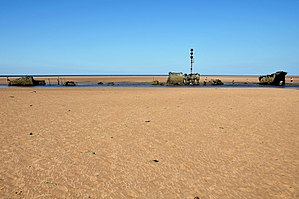 Brancaster - The wreck of the SS Vina (2010)