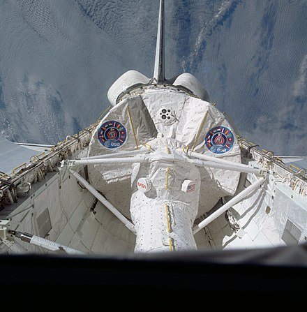 Spacelab in orbit on STS-9 STS-9 Spacelab 1.jpg