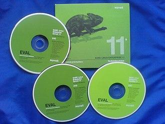 SUSE Linux Enterprise - Image: SUSE Linux Enterprise Server 11 installation DVD 20100429