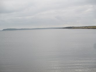 Sabine River (Texas–Louisiana) - The Sabine forms the Louisiana/Texas boundary at Toledo Bend Reservoir west of Many, Louisiana.
