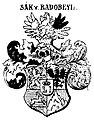 Sack von Radobeyl - Böhmischer Adel (Neuer Siebmacher Bd. 4 Abt. 9 Taf. 21).jpg