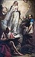 Sacristy of San Francesco della Vigna (Venice) - Immacolata e santi di Giuseppe Angeli.jpg