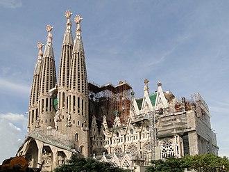 Origin (Brown novel) - Sagrada Família