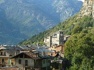 Verrès Comune in Aosta Valley, Italy