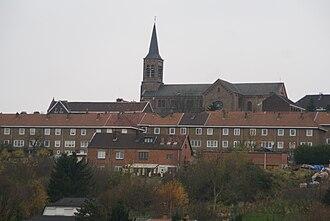 Saint-Nicolas, Liège - Image: Saint Nicolas (Liège) Panorama