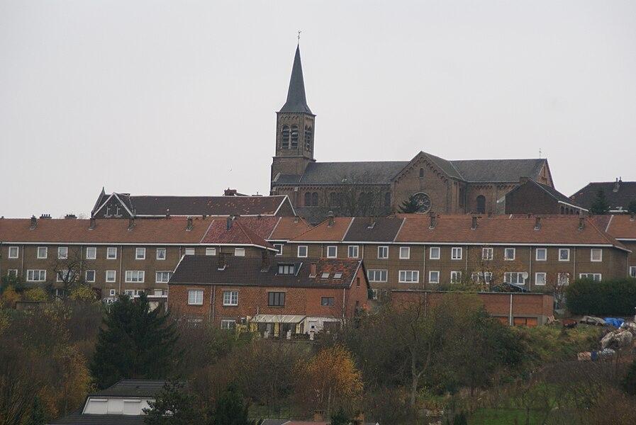 Saint-Nicolas (Liège) (Belgium): Panorama