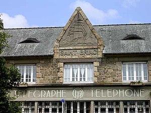 Saint-Briac-sur-Mer - Image: Saint briac poste