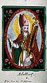 Saint Adalbert of Prague. Coloured engraving. Wellcome V0048885.jpg