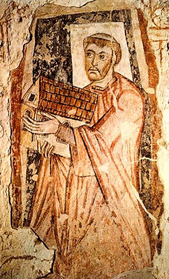 Christianisation of Scotland - Benedict Biscop, founder of two monasteries and one of the key figures in the adoption of Roman Authority in Northumbria