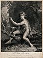 Saint John the Baptist. Engraving by S. de La Vallée after R Wellcome V0032466.jpg