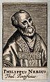 Saint Philip Neri. Engraving. Wellcome V0032900.jpg