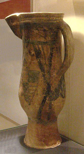 Saintonge - Saintonge jug (1275–1350) exported to London. Now in the Tower of London.