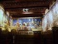 Sala amb frescos d'Ambrogio Lorenzetti, Palazzo Pubblico de Siena.JPG