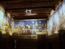 Sala Dei Nove Siena.The Allegory Of Good And Bad Government Wikipedia