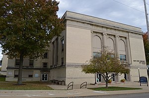 Salem High School (Ohio) - Former downtown campus, now used by Kent State University at Salem.