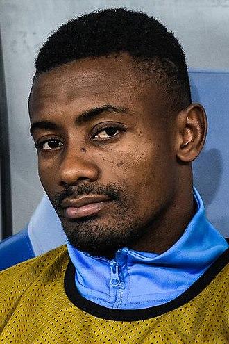 Salomon Kalou - Kalou with Hertha in 2017