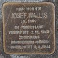 Salzburg - Gnigl - Linzer Bundesstraße 58 - Stolperstein Josef Wallis.jpg