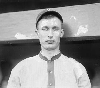 Sam Rice - Sam Rice, Washington Senators, 1916