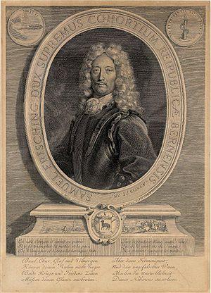 Toggenburg War - Samuel Frisching II, general of the Bernese troops at the Second Battle of Villmergen.