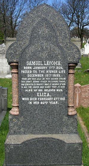 Layton cemetery - Image: Samuel Laycock