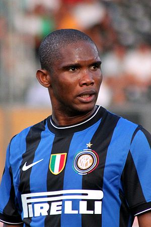 Samuel Eto'o - Eto'o playing for Inter Milan in 2009.