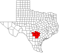 Map of Greater San Antonio