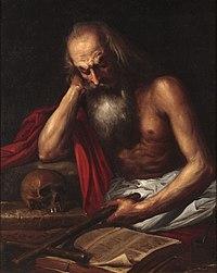 San Jerónimo penitente (Museo Romántico de Madrid).JPG