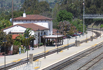 San Luis Obispo station - Image: San Luis Obispo Amtrak station