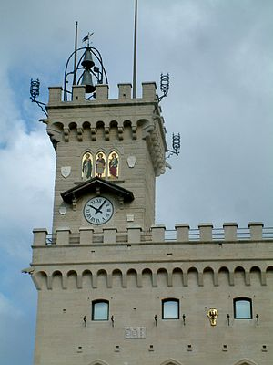 San Marino wieza ratusza.jpg