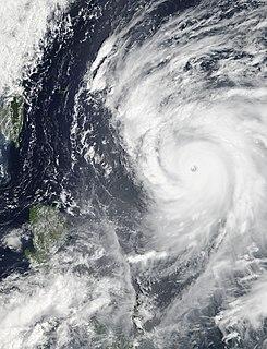 Typhoon Sanba Pacific typhoon in 2012
