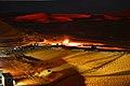 Sand dunes near El Merk at night - panoramio.jpg