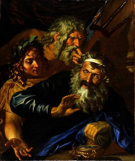 Laomedon Refusing Payment to Poseidon and Apollo, by Joachim von Sandrart Sandrart (attributed), Troppa (attr.) - Laomedon Refusing Payment to Poseidon and Apollo - 17th c.jpg