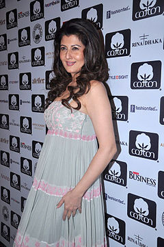 Sangeeta Bijlani at Cotton Council show (1).jpg