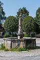 Sankt Florian Stift ehem Meierhof Brunnen.jpg