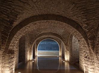 Sant Llorenç prop Bagà - Crypt