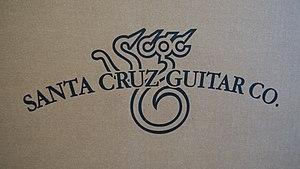 Santa Cruz Guitar Company - Image: Santa Cruz Guitar Company shipping box logo
