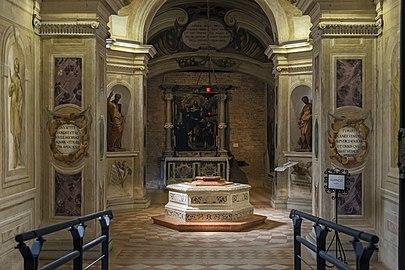 Santa Giustina (Padua) - Corridor of the Martyrs