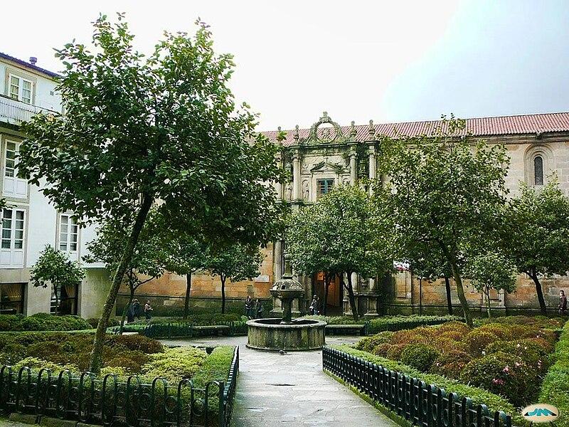 Santiago de Compostela. Praza de Fonseca.jpg