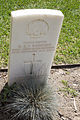 Sapper G A S Rainbird gravestone in the Wagga Wagga War Cemetery.jpg