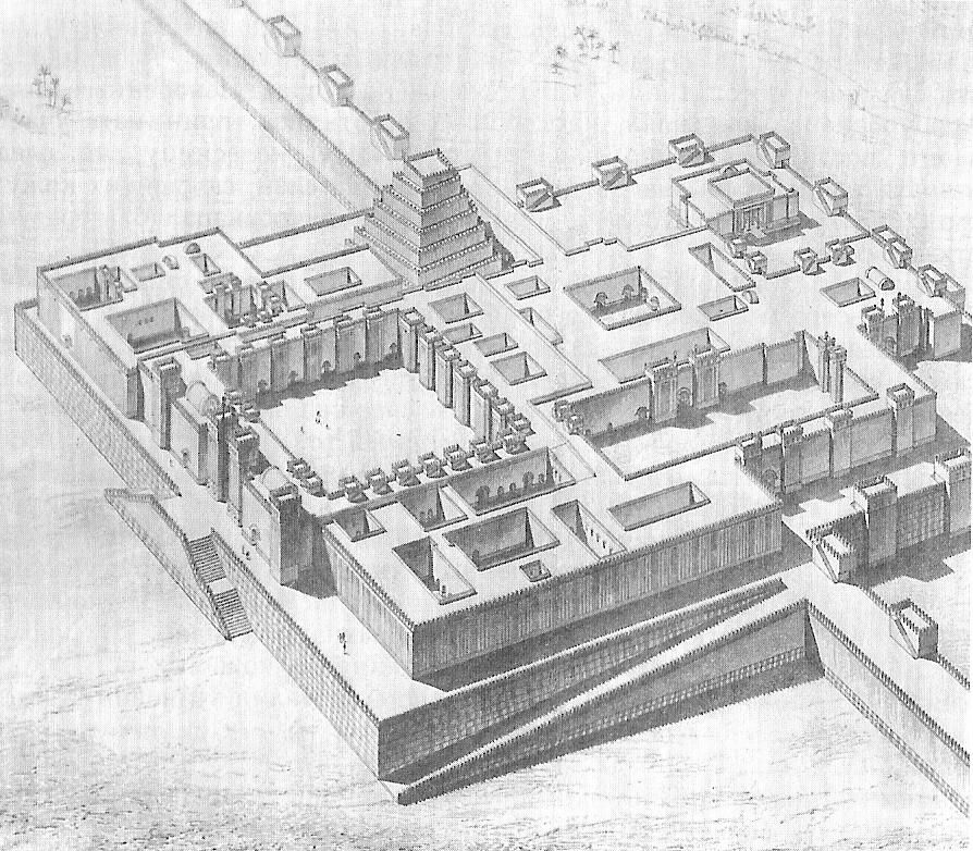 Sargon II palace in Dur-Sharrukin