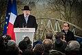 Sarre-Union René Gutman et François Hollande profanation du cimetière juif février 2015.jpg