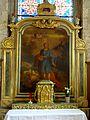 Sceaux (92), église Saint-Jean-Baptiste (92), autel latéral sud, retable de saint Mammès 1.jpg