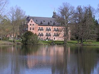 Bille (Elbe) - Bille at Schloss Reinbek (Mühlenteich)