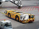 Schopf pushback vehicle at Sheremetyevo International Airport pic2.JPG